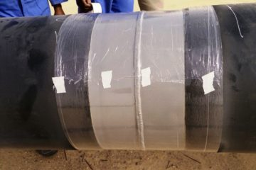 HBP Coated Weld Joint